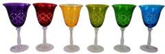 Weinglasset, 6-tlg. Fidelio Hoff Interieur mehrfarbig
