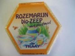 Traay Zeep rozemarijn / stuifmeel bio 100 Gram