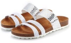 Witte LASCANA slippers