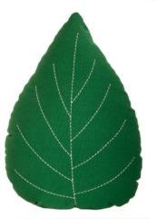 Groene RoomMate Blad Kussen - Leaf Cushion | Green