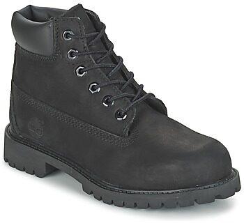 Afbeelding van Zwarte Timberland Kids' 6 Inch Premium Waterproof Boots - Black - UK 2.5 Kids - Black