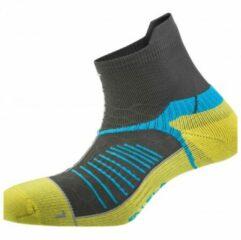 Gele Salewa - Ultra Trainer Socks - Multifunctionele sokken maat 44-46 zwart/geel
