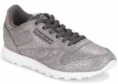 Grijze Lage Sneakers Reebok Classic CLASSIC LEATHER J