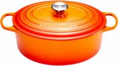 Le Creuset Ovale Braadpan 29 cm Oranje-rood