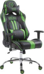 CLP Bürostuhl XL LIMIT mit hochwertiger Polsterung und Kunstlederbezug I Gamingstuhl mit Metallgestell I Höhenverstellbarer Schreibtischstuhl mit Lauf