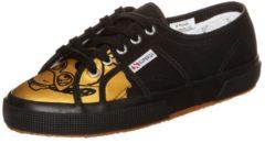 Superga 2750 FANCOT BELLE Sneaker Low Damen schwarz-gold