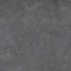 Antraciet-grijze Cifre Ceramica Cifre Cerámica Vloer- en wandtegel Materia Antracite 60x60 cm Gerectificeerd Betonlook Mat Antraciet SW07310551