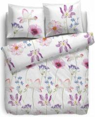Heckettlane HnL Pure Cotton Dekbedovertrek Pink Parrot - Litsjumeaux XL - 260x200/220 - Multi
