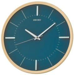 Seiko Clocks Seiko QXA731Y Wandklok Quartz blauw-groen 31,2 cm