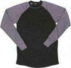 Zwarte Merkloos / Sans marque Thermisch ondershirt Unisex - Maat L