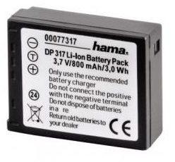 Afbeelding van Hama 00077317 Rechargeable Li-Ion Battery DP 317 f/ Panasonic