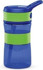 Boddels EEN Drinkfles voor kinderen & volwassenen - 400 ml - Blauw/Groen