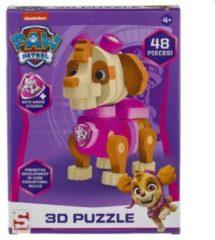 Roze Nickelodeon Paw Patrol foampuzzel 3D Skye