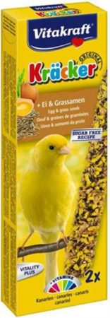 Afbeelding van Vitakraft Eikracker 2 in 1 Kanarie - vogelsnacks - Snacks - 60gram