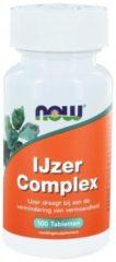 Now Foods Now Ijzer Complex Trio (3x 100tab)