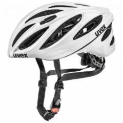 Uvex - Boss Race - Fietshelm maat 55-60 cm, grijs/zwart/wit