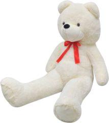 Witte VidaXL Knuffelbeest teddybeer pluche wit 200 cm