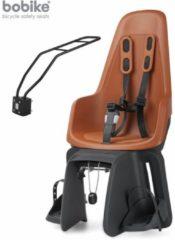 BoBike One Maxi chocolate brown fietsstoeltje achter (framebevestiging)