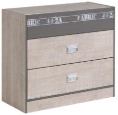Kommode Sideboard 'Fabric 7' Esche-grau Parisot Esche-grau