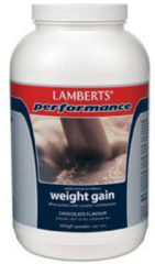 Lamberts Weight Gain Chocolate - 1816 gram - Eiwitshake