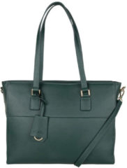 The Little Green Bag The Little groen Bag June Laptop Bag 13 Inch Schoudertassen Groen