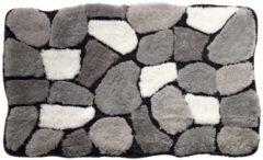 Bademattenserie 'Stone' Webschatz grau/creme