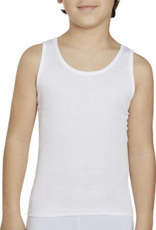 Afbeelding van Ysabel Mora Shirt kind mouwloos wit | 16