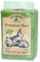 Pets own choice Pet's Own Choice Premium Hooi - Ruwvoer - 4 kg