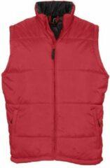 Bodywarmer Sol's Warm - rood - 4XL