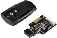 SilverStone Technology SilverStone ES02-USB - Remote-Netzschalter SST-ES02-USB
