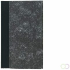 Reprint.nl Notitieboek 165x105 Huismerk Octavo 144blz Grijs