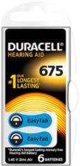 Duracell EasyTab 675 DL(Bl.6) (10 Stück) - Hörgeräte-ZincAir-Batterie 1,4V (PR44) EasyTab 675 DL(Bl.6)