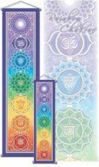 Yogi & Yogini Chakra banner klein - 15x60 - Polyester