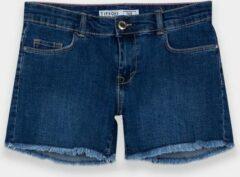 Tiffosi jeansshort meisjes donkerblauw maat 128