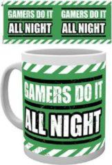 Merchandising GAMING - Mug - 300 ml - All Night
