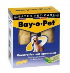 Bay-o-Pet Kauwstrips Spearmint - kleine hond (140 gr.)