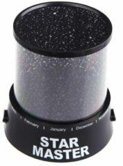 Merkloos / Sans marque Starmaster Kosmos Sterrenprojector - Zwart