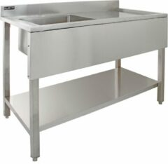 Roestvrijstalen KuKoo Commercial Stainless Steel Sink - Right Hand Drainer