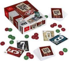 Dal Negro kaartspel Mister Bluff 2,5 cm karton rood/groen 2-delig