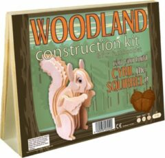 Enigma Animal Construction Kit - Woodland Cyrill Squirrel