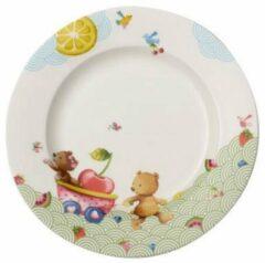 Witte VILLEROY & BOCH - Hungry as a Bear - Kinderbord 22cm