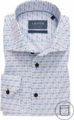 Bruine Ledub Overhemd ML5 138560 (maat 44)