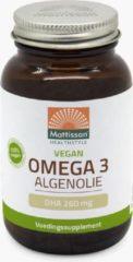 Merkloos / Sans marque Mattisson / MT1476 Plantaardige Vegan Omega 3 Algenolie DHA 260mg 60 vcaps.