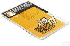 Envelop cleverpack akte b4 245 x 350 zk klep 50 stuks transparant