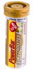 POWERBAR Bruistabletten 5Electrolytes Lemon Tonic Boost + coffeïne, Sportdrank,