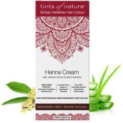 Tints Of Nature Henna cream mahogany red semi permanent 70 Milliliter
