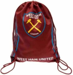 Bordeauxrode Westham West Ham Zwemzak - Turnzak - Bordeaux/Blauw