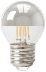 Calex - Led Lamp - Kogelspiegellamp Filament P45 - E27 Fitting - 4w - Dimbaar - Warm Wit 2700k - Chroom
