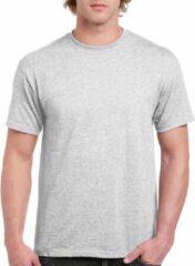 Gildan Lichtgrijs katoenen shirt voor volwassenen L (40/52)