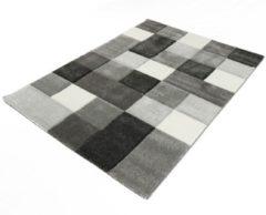 Grijze Merinos Vloerkleed Brilliance 656-96 Grey-160 x 230 cm